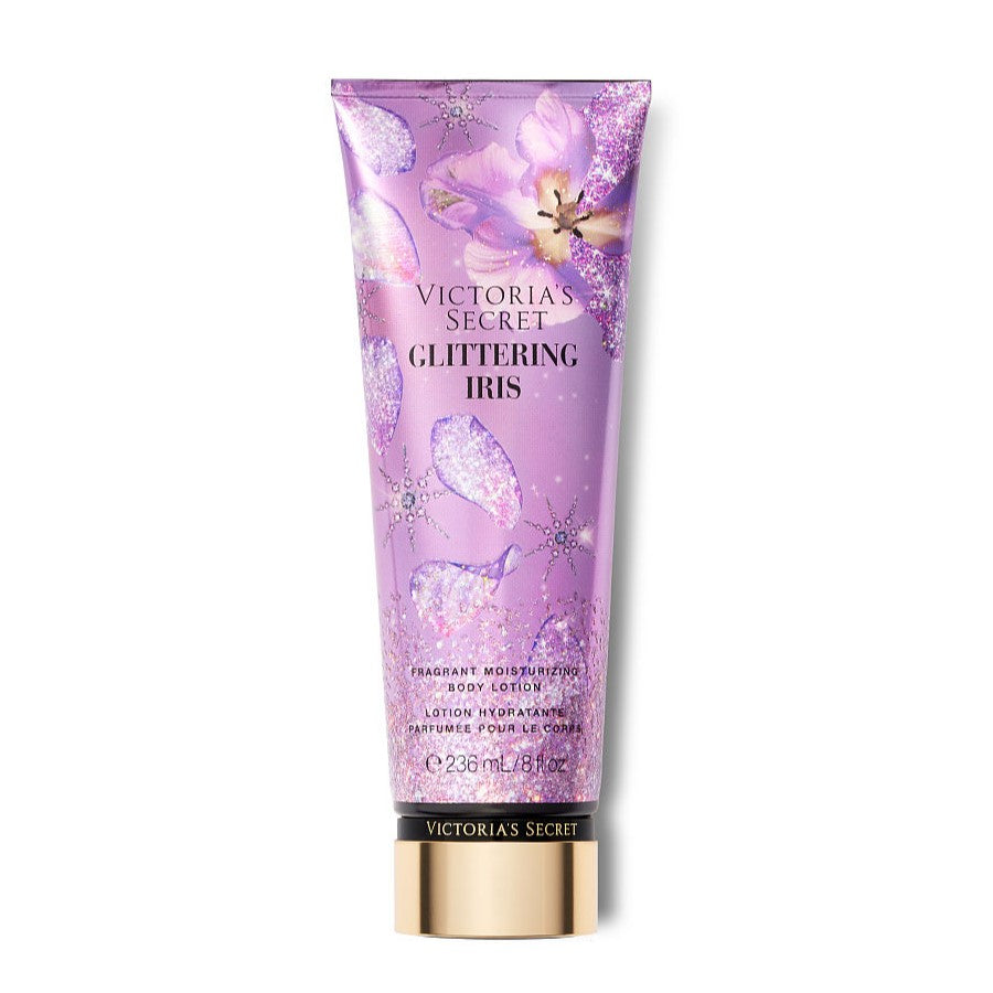 VICTORIA'S SECRET GLITTERING IRIS LIMITED EDITION HAND & BODY LOTION 236ML - Beauty Bar Cyprus