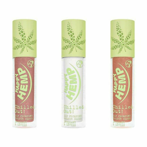 W7 HAPPY HEMP PLUMBING GLOSS - AVAILABLE IN 3 SHADES - Beauty Bar Cyprus