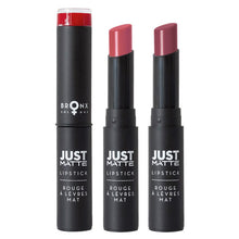 Load image into Gallery viewer, BRONX JUST MATTE LIPSTICK - AVAILABLE IN A VARIETY OF COLOURS - Beauty Bar Cyprus