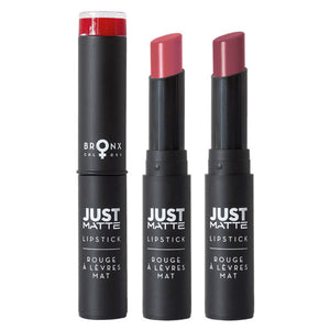 BRONX JUST MATTE LIPSTICK - AVAILABLE IN A VARIETY OF COLOURS - Beauty Bar Cyprus