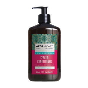 ARGANICARE KERATIN CONDITIONER 400ML - Beauty Bar Cyprus