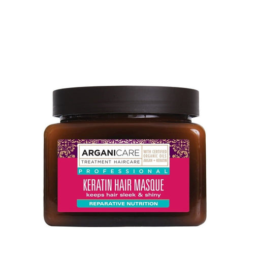 ARGANICARE KERATIN MASQUE 500ML - Beauty Bar Cyprus