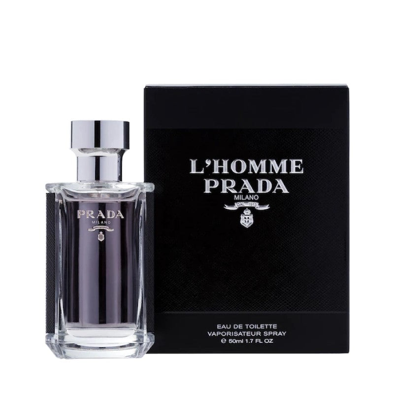 PRADA L'HOMME PRADA EDT - AVAILABLE IN 2 SIZES - Beauty Bar
