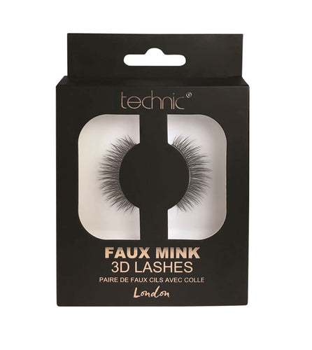 TECHNIC 3D FAUX MINK LASHES LONDON - Beauty Bar Cyprus