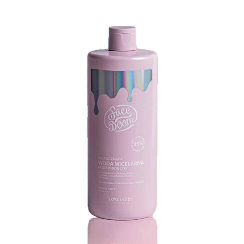 FACE BOOM MICELLAR WATER 500ML - Beauty Bar Cyprus