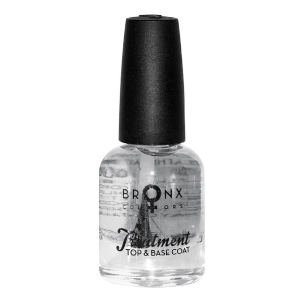 BRONX NAIL LACQUER TREATMENT TOP & BASE COAT NLT01 - Beauty Bar Cyprus