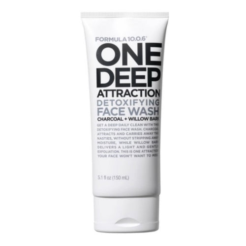 FORMULA 10.0.6 - ONE DEEP ATTRACTION - DETOXIFYING FACE WASH 150ML - Beauty Bar Cyprus