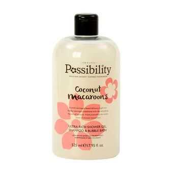 POSSIBILITY COCONUT MACAROONS 3 IN 1 SHOWER GEL - Beauty Bar Cyprus