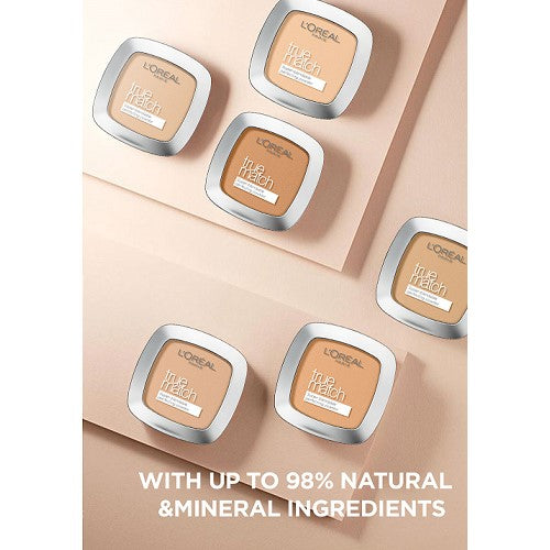LOREAL - TRUE MATCH POWDER AVAILABLE IN 4 SHADES - Beauty Bar Cyprus