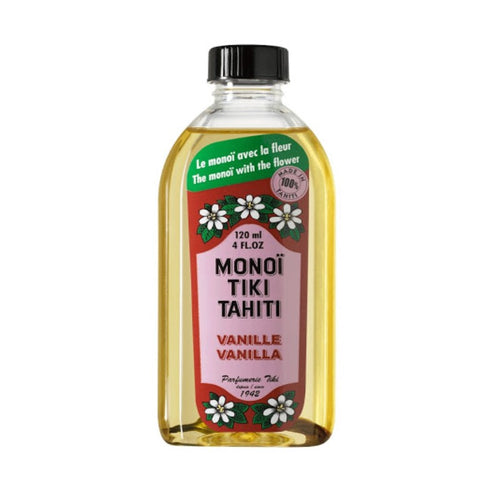 MONOI TIKI TAHITI VANILLA NATURAL OIL 120ML - Beauty Bar Cyprus