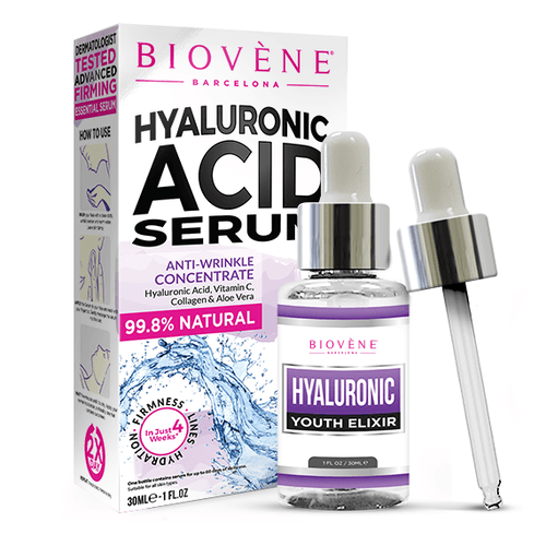 BIOVENE HYALURONIC ACID SERUM - Beauty Bar Cyprus