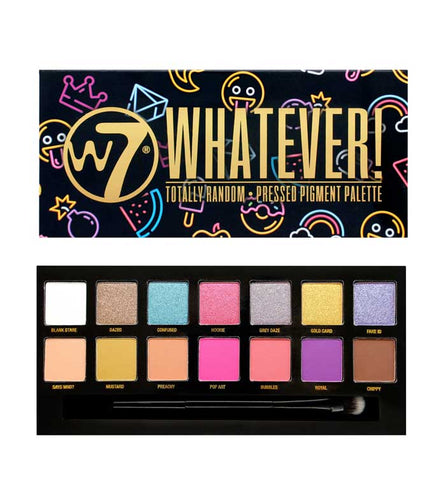 W7 WHATEVER EYE SHADOW PALETTE - Beauty Bar Cyprus