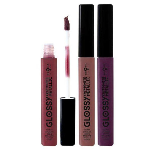 BRONX COLORS KRYPTONITE METALLIC GLOSSY LIP CREAM - AVAILABLE IN 6 SHADES - Beauty Bar Cyprus