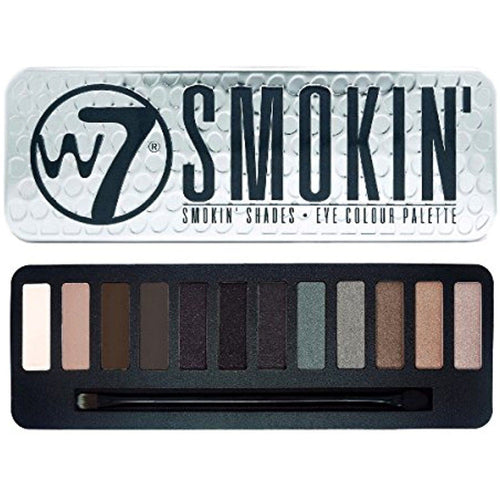 W7 SMOKIN EYESHADOW PALETTE - Beauty Bar Cyprus