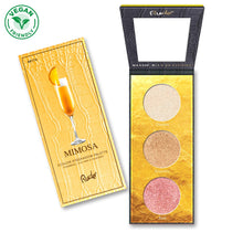 Load image into Gallery viewer, RUDE COCKTAIL PARTY LUMINOUS HIGHLIGHT / EYESHADOW PALETTE - MIMOSA - Beauty Bar Cyprus