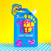 Load image into Gallery viewer, 7DAYS HAPPY FEET CREAM 25 ML BABY SILKY FEET WITH SHEA - Beauty Bar Cyprus