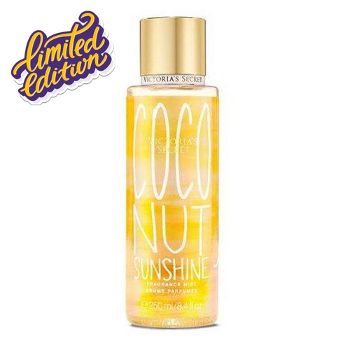 VICTORIA'S SECRET COCONUT SUNSHINE LIMITED EDITION BODY MIST 250ML - Beauty Bar