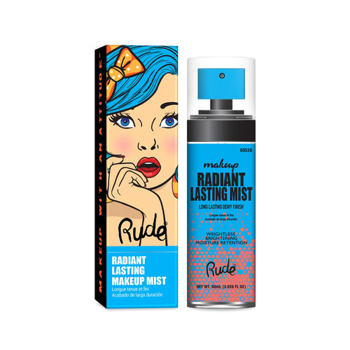 RUDE RADIANT LASTING MAKEUP MIST - Beauty Bar Cyprus