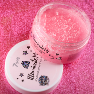 7DAYS ILLUMINATE ME ROSE GIRL 220 G SMOOTHING SUGAR BODY SCRUB - Beauty Bar Cyprus