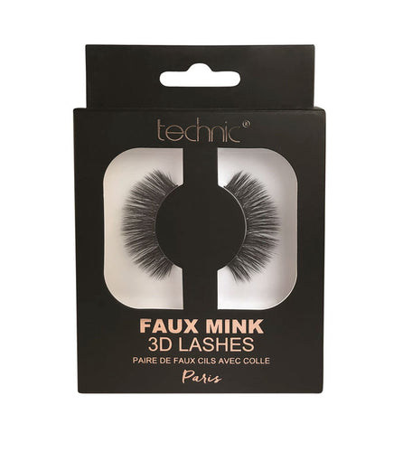 TECHNIC 3D FAUX MINK LASHES PARIS - Beauty Bar Cyprus
