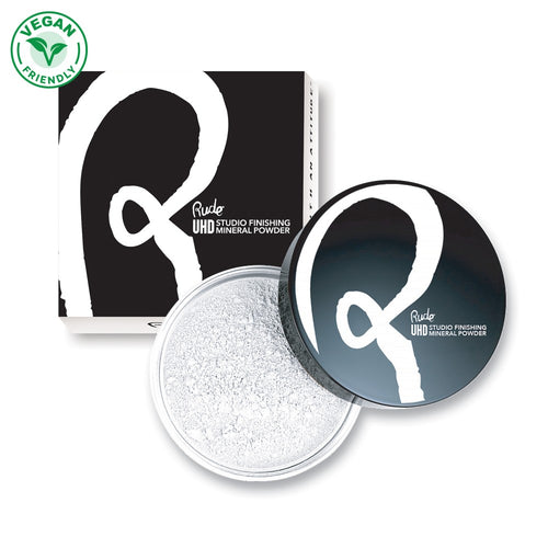 RUDE ULTRA HIGH DEFINITION STUDIO FINISHING MINERAL POWDER - TRANSLUSCENT - Beauty Bar Cyprus