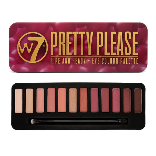 W7 PRETTY PLEASE EYE SHADOW PALETTE - Beauty Bar Cyprus