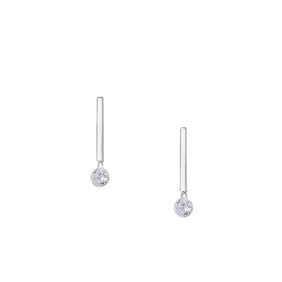 Minimalist Stick Bar Stud Earrings