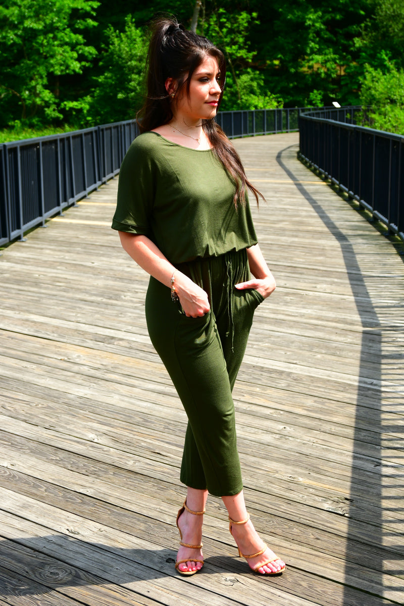 FALL VIBES JUMPSUIT