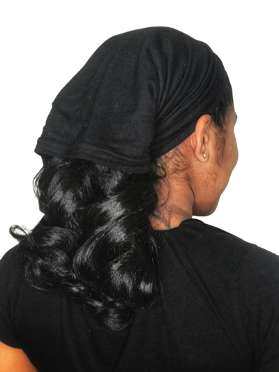 SATIN LINED MULTI PURPOSE CAP (black)