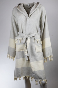 Badekåbe / housecoat - Diamond Light grey