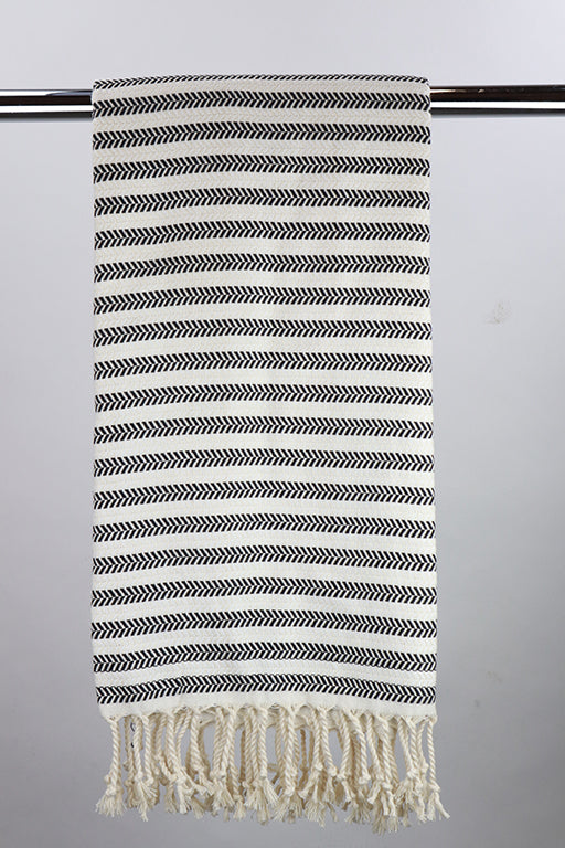 Hammam single stripe black