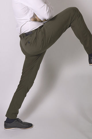 Performance Khaki green Copenhagen pants