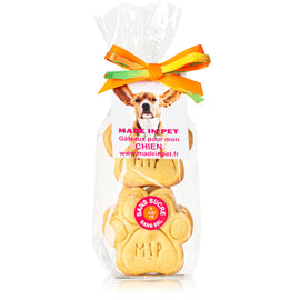 "Biscuits "" Patte Made in Pet"" pour chiens - Canard"