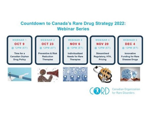 CORD presents Rare Disease Drug Strategy Webinars