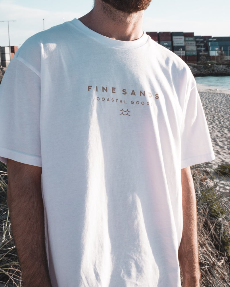 Coastal Goods Tee - White