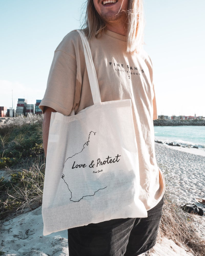 Love and Protect Tote Bag