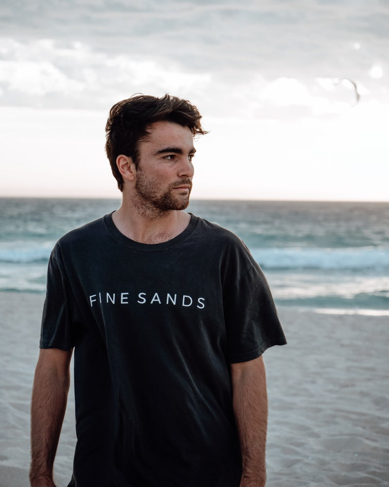 Seaside Tee - Faded Black