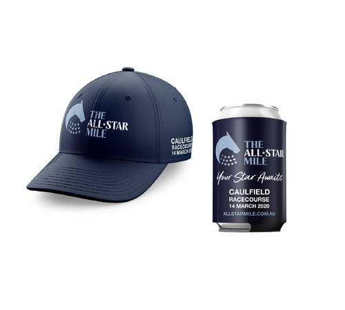 The All-Star Mile Cap & Stubby Cooler Bundle