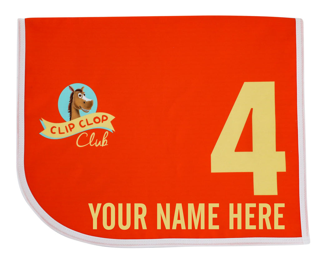 Clip Clop Club Custom Mini Saddlecloth