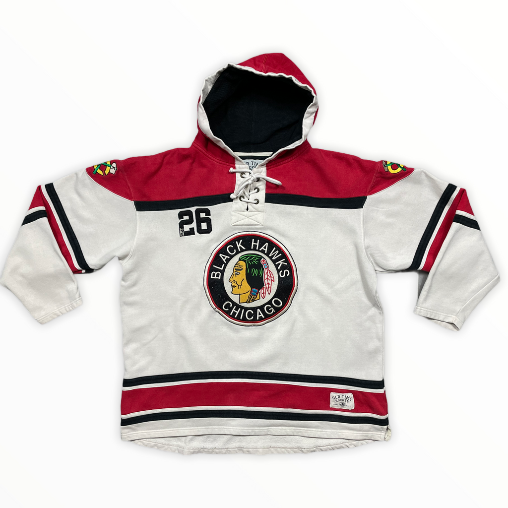 Hoodie NHL - CHICAGO BLACK HAWKS - XL