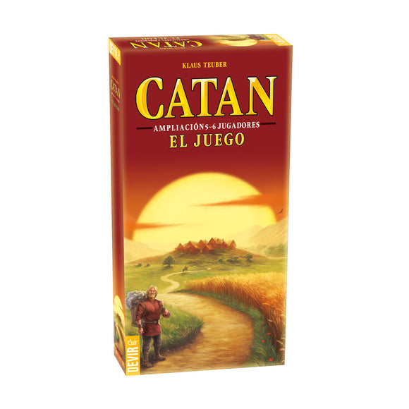 CATAN BASE AMPLIACION 5-6 JUGADORES