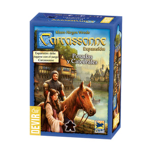 CARCASSONNE POSADAS Y CATEDRALES EXPANSION
