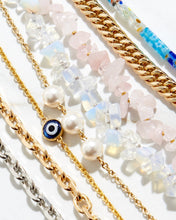 Load image into Gallery viewer, The Kyoto - Cable Chain with Swarovski Crystal Pearls - The Avantguard