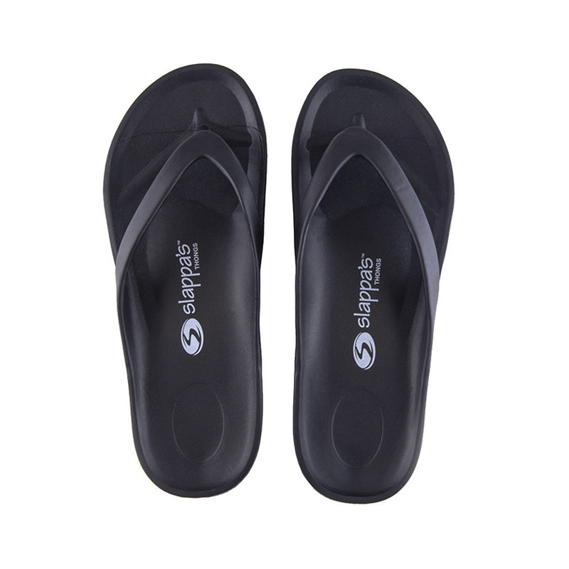 Slappa's Thongs Black