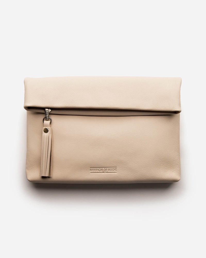 Lily Leather  Clutch