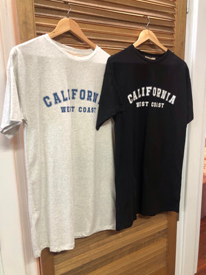 California Tee Dress