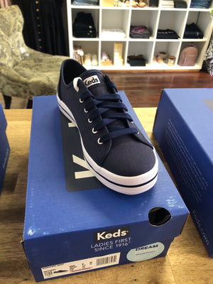 Keds Kickstart Navy Canvas
