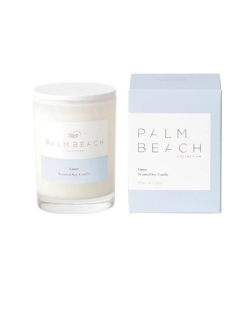 Palm Beach Linen Mini Candle