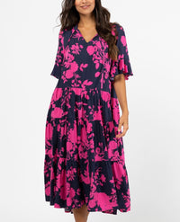 Angelica  Navy Maxi