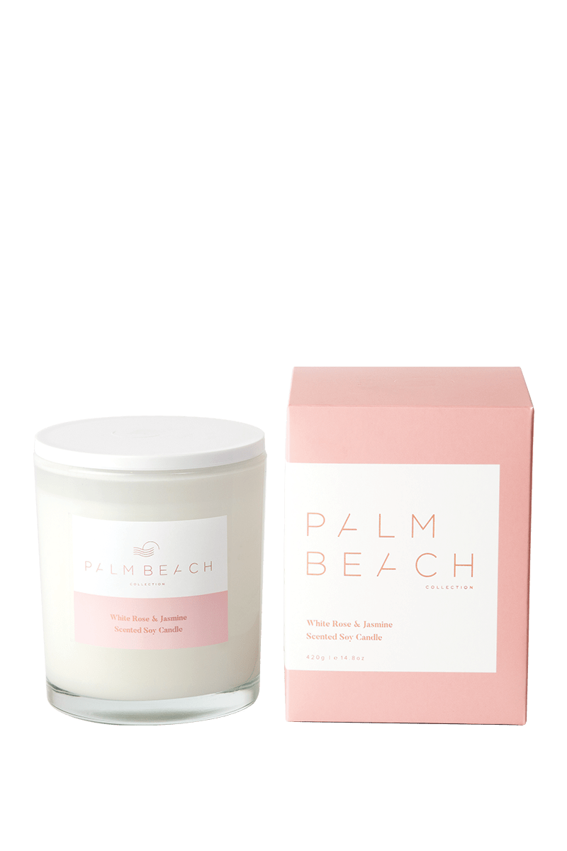 Palm Beach White Rose & Jasmine